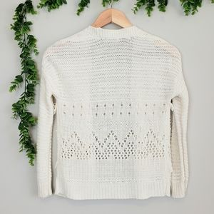 Dex Shirts & Tops - Dex Boho Tassle Knit Cardigan
